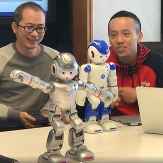 Humanoid robots demonstration by UBTECH Sydney AI Centre