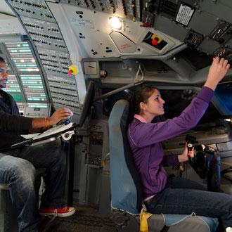 Aeronautical engineering demonstrations