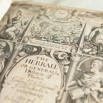 Rare books display