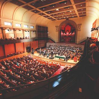 Conservatorium symphony orchestra performance