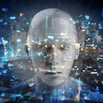 Visual localisation using artificial intelligence